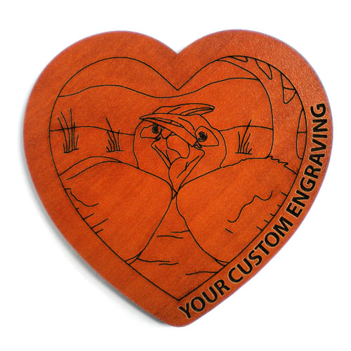 Heart coaster hornbill 2