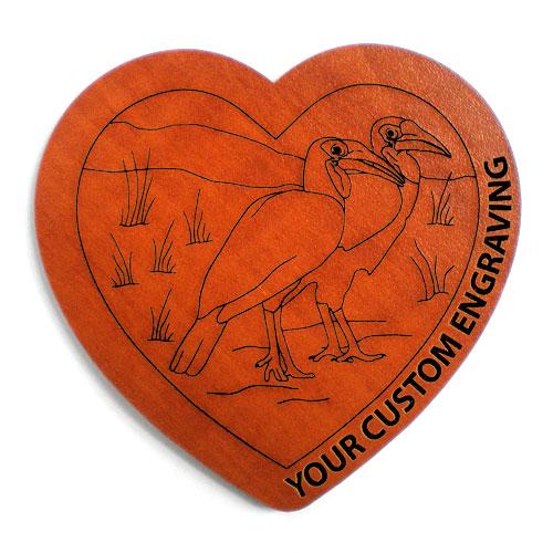 Heart coaster hornbill 4