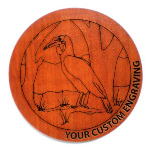 Picture Coaster - Hornbill 1