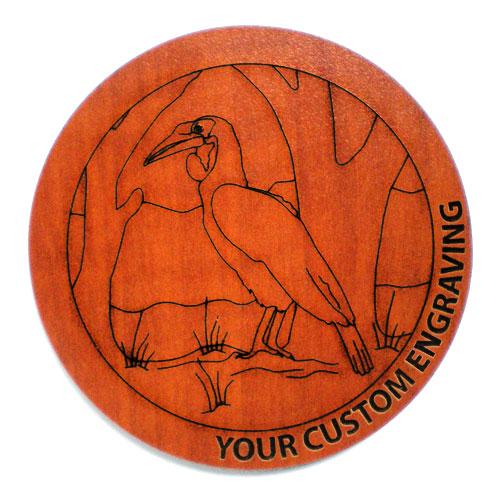 Picture Coaster - Hornbill 1