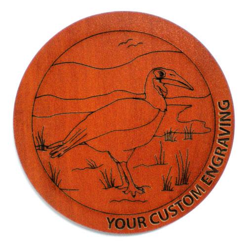 Picture Coaster - Hornbill 2