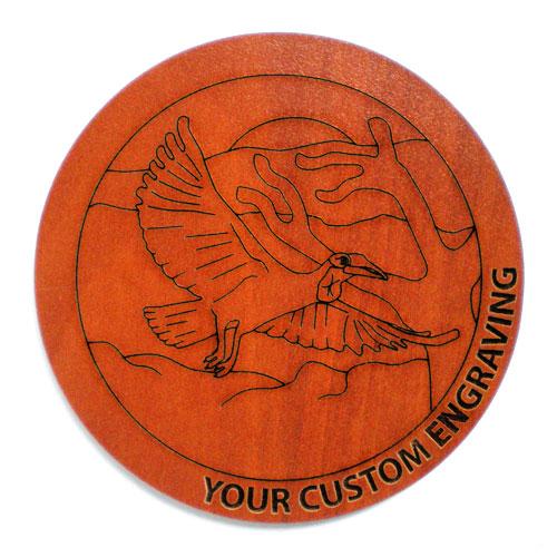 Picture Coaster - Hornbill 3
