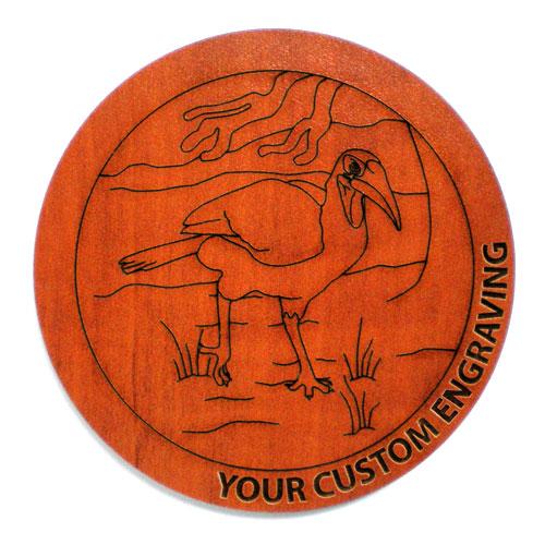 Picture Coaster - Hornbill 4