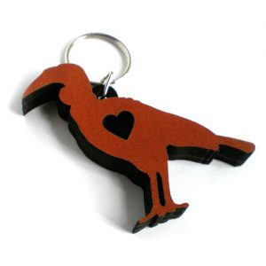 Personalised Keyrings - Hornbill