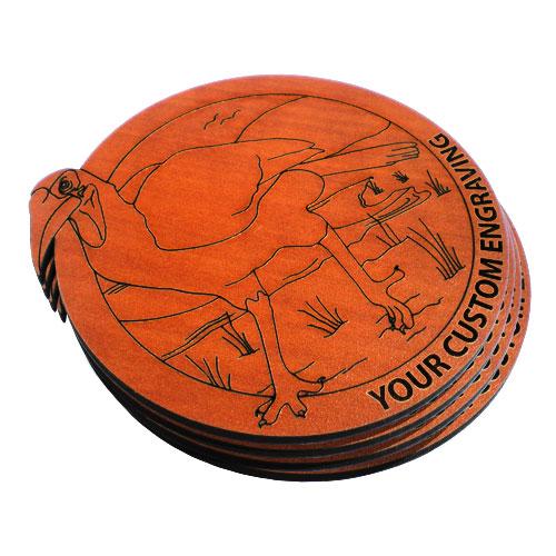 round coaster hornbill set