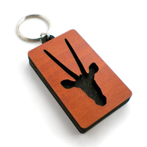 Personalised Keyring - Gemsbok
