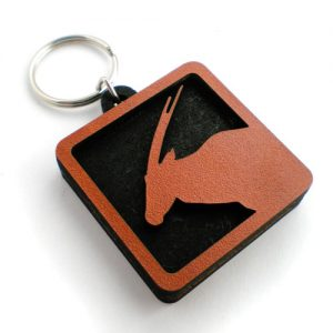 Personalised keyring - Gemsbok
