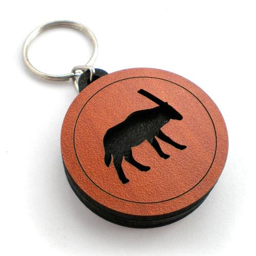 personalised keyring front gemsbok